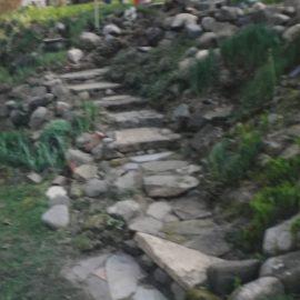 walkway- steps- landscaping