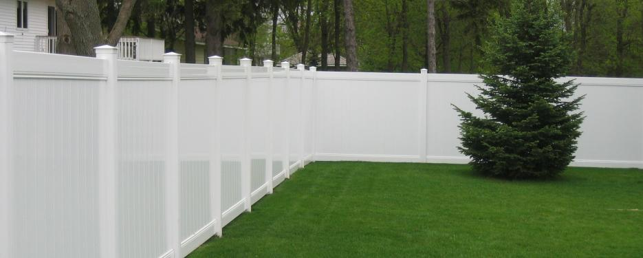 Good White Vinyl Fence