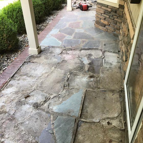 Paver Walkway-1 Before