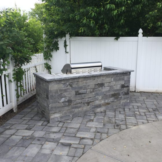Pool Area Pavers After