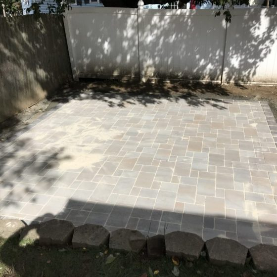 Middletown pavers after